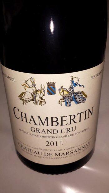 Chateau Marsannay Chambertin Grand Cru