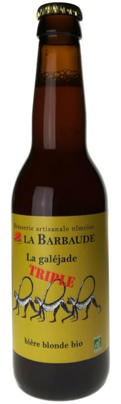 La Barbaude Galéjade Triple 33cl