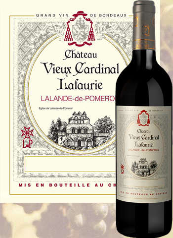 Lalande De Pomerol  CHATEU VIEUX CARDINAL LAFAURIE 2016