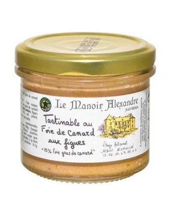 Tartinable foie de canard et figues